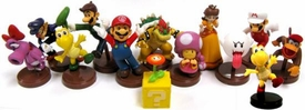 Furuta Super Mario Collection Series 2 Set of 13 Mini 2 Inch PVC Figures [Includes Fire Mario & Variant Koopa Troopa!]