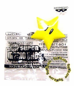 New Super Mario Brothers BanPresto Mini PVC Star