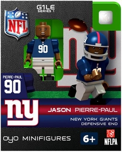 OYO Football NFL Building Brick Minifigure Jason Pierre-Paul [New York Giants]