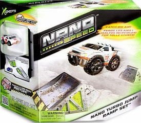 Nano Speed Micro Car Playset Nano Turbo Jump Ramp Set