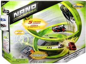 Nano Speed Micro Car Playset Nano Super Vert Crash Set