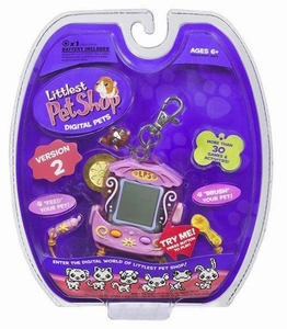 Littlest Pet Shop Virtual Electronic Digital Pet Toy (Similar to Tamagotchi) Guinea Pig