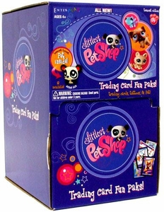 Littlest Pet Shop Enterplay Trading Cards Teeniest Edition Fun Pak Box [24 Packs]