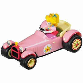 Mario Kart DS 3.5 Inch Pull & Speed Car #19303 Peach Royale