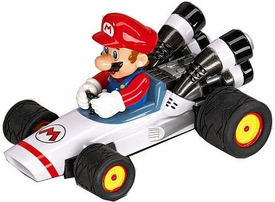 Mario Kart DS 3.5 Inch Pull & Speed Car #19301 Mario B-Dasher