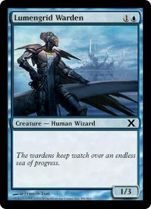 Magic the Gathering Tenth Edition Single Card Common #89 Lumengrid Warden