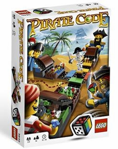LEGO Games Set #3840 Pirate Code