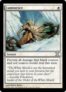 Magic the Gathering Tenth Edition Single Card Uncommon #28 Luminesce