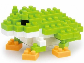 Nanoblock Micro-Sized Building Block Figure Japanese Tree Frog