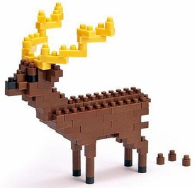 Nanoblock Micro-Sized Building Block Figure Sika Deer
