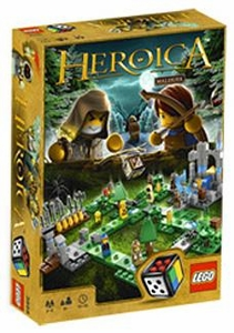 LEGO Games Heroica Set #3858 Waldurk Forest