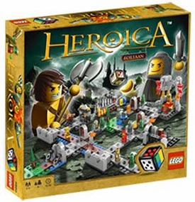 LEGO Games Heroica Set #3860 Castle Fortaan