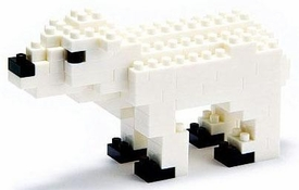 Nanoblock Micro-Sized Building Block Figure Polar Bear