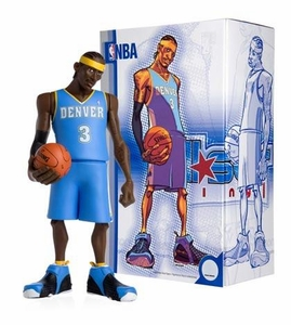 Upper Deck Authenticated All Star Vinyl Figure Allen Iverson (Blue Away Jersey) Limited to 500 Pieces BLOWOUT SALE!