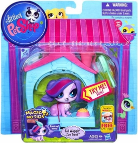 Littlest Pet Shop Magic Motion Pets Tail Waggin' Zoe Trent