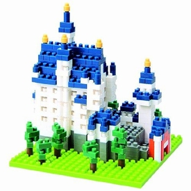 Nanoblock Micro-Sized Building Block Figure Neuschwanstein Castle