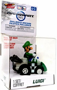 Air Hogs Mario Kart Wii Exclusive Pull Back Racer Go-Kart Luigi