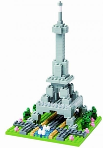 Nanoblock Micro-Sized Building Block Figure Eiffel Tower