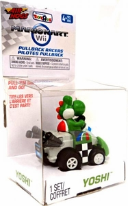 Air Hogs Mario Kart Wii Exclusive Pull Back Racer Go-Kart Yoshi