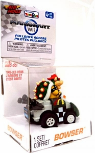 Air Hogs Mario Kart Wii Exclusive Pull Back Racer Go-Kart Bowser