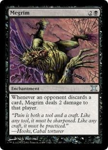 Magic the Gathering Tenth Edition Single Card Uncommon #157 Megrim