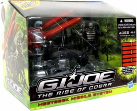 GI Joe Movie The Rise of Cobra Exclusive Heatseek Missile System