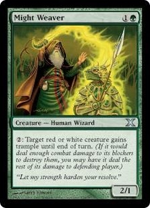Magic the Gathering Tenth Edition Single Card Uncommon #278 Might Weaver