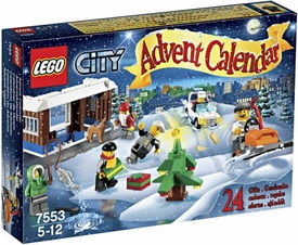 LEGO City Set #7553 2011 City Advent Calendar