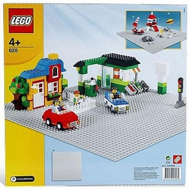 LEGO City Set #628 X-Large Gray Baseplate