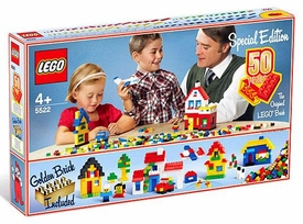 LEGO City Set #5522 Special Edition 50 Years Golden Anniversary [Golden Brick Included!]