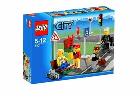 LEGO City Exclusive Set #8401 Mini Figure Collection