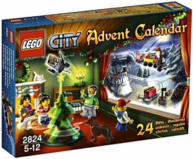 LEGO City Set #2824 2010 Advent Calendar