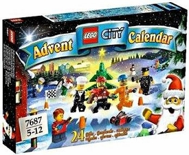 LEGO City Set #7687 2009 Advent Calendar