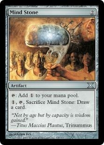 Magic the Gathering Tenth Edition Single Card Uncommon #335 Mind Stone