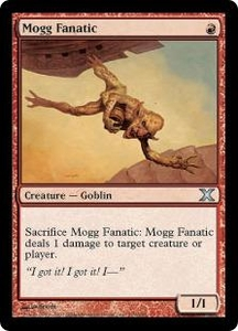 Magic the Gathering Tenth Edition Single Card Uncommon #219 Mogg Fanatic