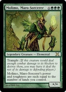 Magic the Gathering Tenth Edition Single Card Rare #280 Molimo, Maro-Sorcerer