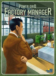 Power Grid: Factory Manager Rio Grande Games Board Game BLOWOUT SALE!