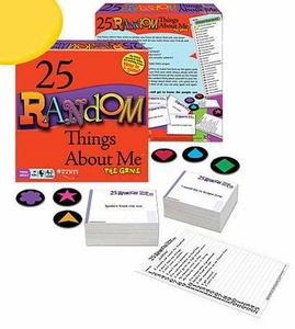 Board Game 25 Random Things About Me
