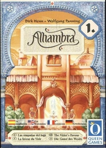 Board Game Alhambra: The Vizier's Favor