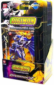 Digimon Collectible Card Game Operation X Booster BOX [12 Packs] BLOWOUT SALE!