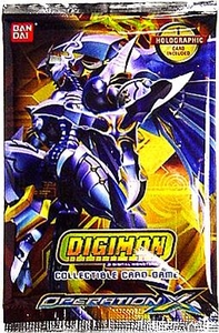 Digimon Collectible Card Game Operation X Booster Pack Hot!