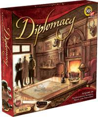 Board Game Avalon Hill Diplomacy
