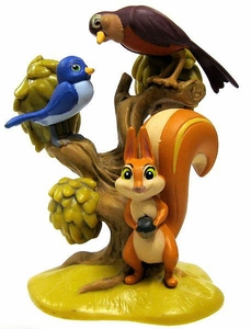 Disney Sofia the First Exclusive 3 Inch LOOSE PVC Figurine Mia, Poppy & Squirrel