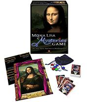 Board Game Mona Lisa Mysteries