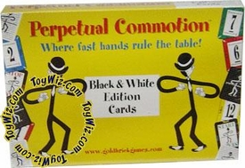 Board Game Perpetual Commotion Black and White Edition Cards