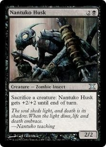 Magic the Gathering Tenth Edition Single Card Uncommon #162 Nantuko Husk