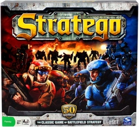 Board Game The Classic Game of Battlefield Strategy Stratego