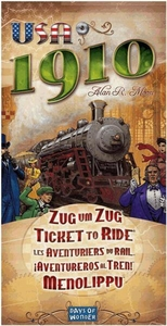 Board Game Ticket to Ride 1910