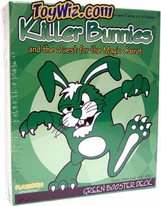 Card Game Killer Bunnies and the Quest for the Magic Carrot Green Booster Deck