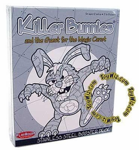 Card Game Killer Bunnies and the Quest for the Magic Carrot Stainless Steel Booster Deck